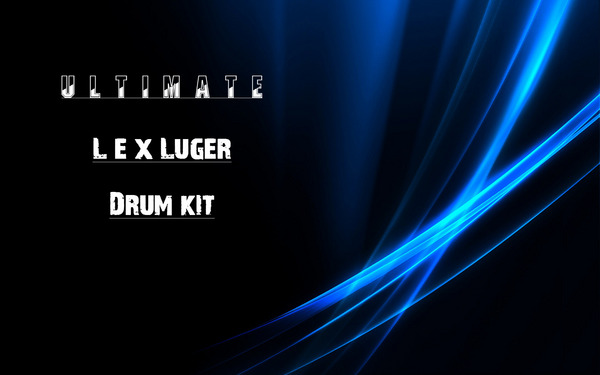 Product picture Ultimate Lex Luger Drum Kit