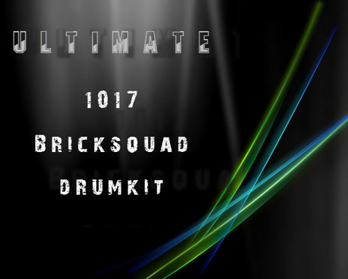 Product picture Ultimate 1017 BrickSquad Drum Kit